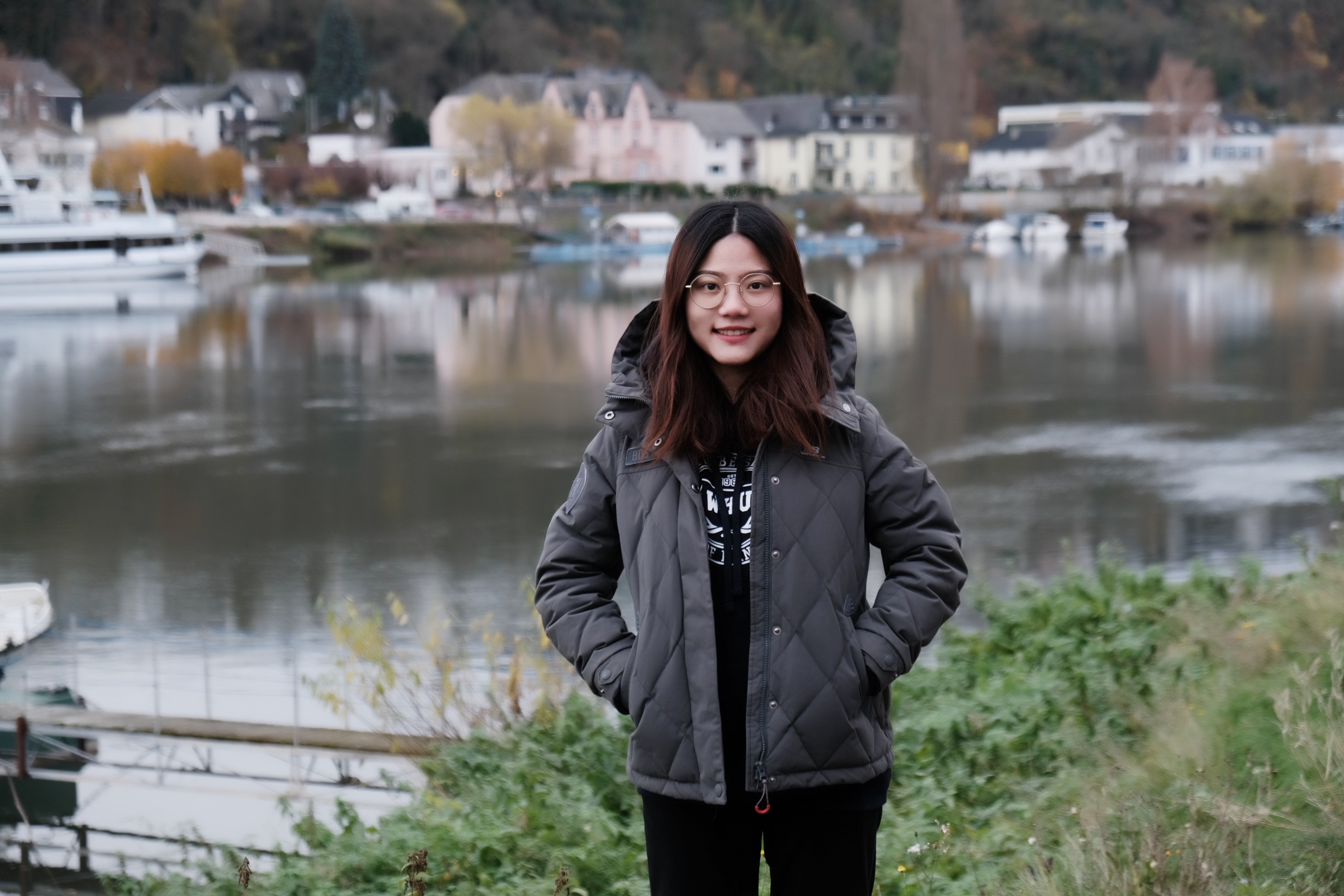 WHU Master of Science alumna Yujing Liang double degree in St.Louis, USA