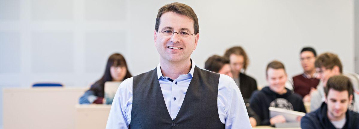 Professor Dr. Markus Rudolf, Dean of WHU